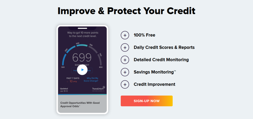 site like Credit Karma