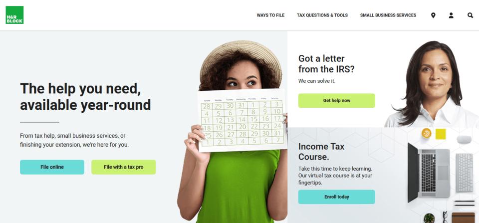 H&R Block loan on tax refund