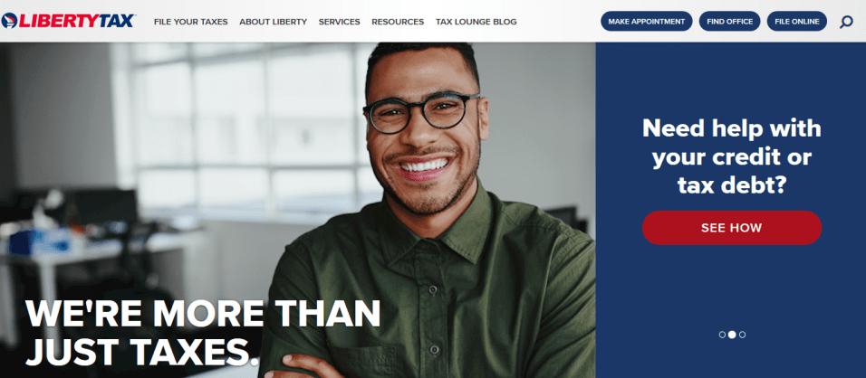 Liberty Tax refund anticipation loan