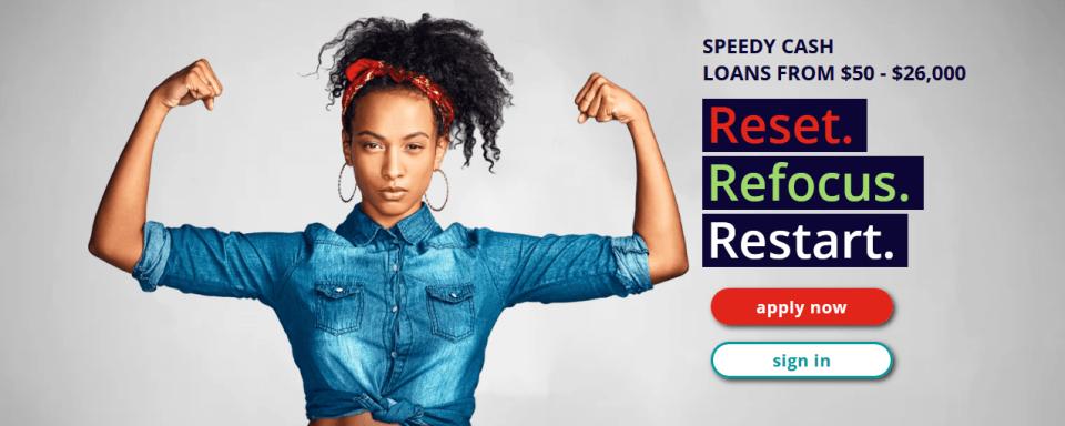 SpeedyCash loan